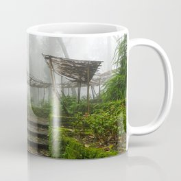 Garden Fog in Northern Thailand Coffee Mug