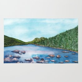 Acadia National Park Bubbles View Rug