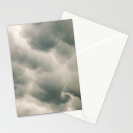Mammatus Clouds 4 Stationery Cards
