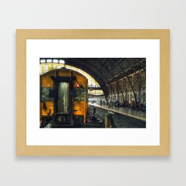 Train - Bangkok - Thailand Framed Art Print