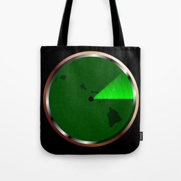 Radar on Hawaii Tote Bag