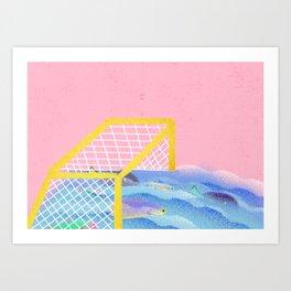 Brazil - caiu na rede é peixe Art Print