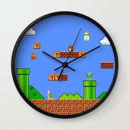 Mario Wall Clock