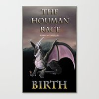 book cover Canvas Prints featuring Book Cover by Author Warren Cohen