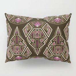 art deco pattern ornament Pillow Sham