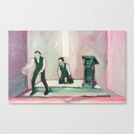 Repent! Canvas Print