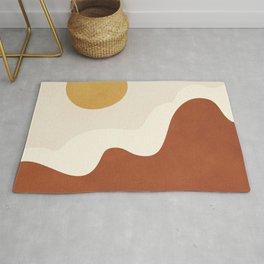 abstract minimal 40 Rug
