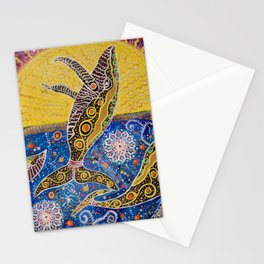THE WHALES JOURNEY THE AWAKENING  Stationery Cards