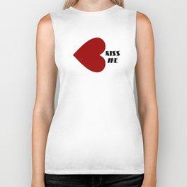 Kissed by heart Biker Tank