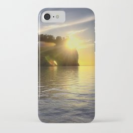 Pictured Rocks Sunset iPhone Case