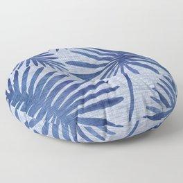 Mid Century Meets Mediterranean - Tropical Print Floor Pillow