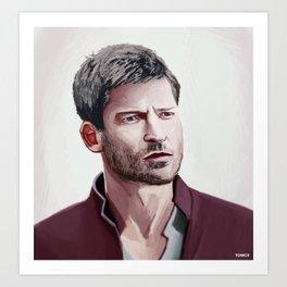 Jamie Art Print