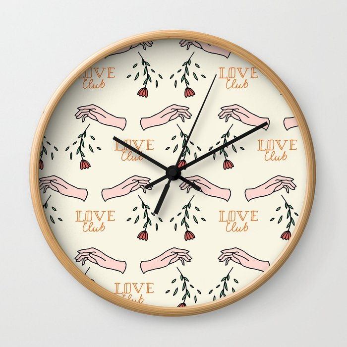 Love Club 1 _cr Wall Clock