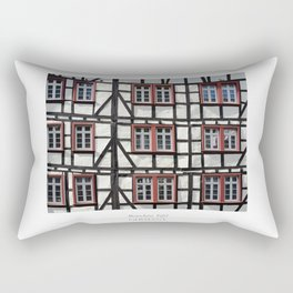 City of Monschau, German architecture Rectangular Pillow