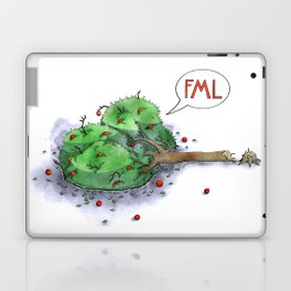 Trees Done With Life 1 Laptop & iPad Skin