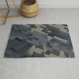 Abstract Concrete IV Rug