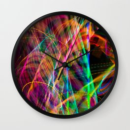 Ferris Wheel's Day Off Wall Clock