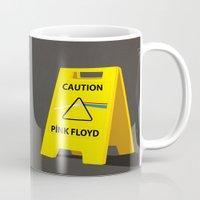 floyd Mugs featuring Pink Floyd by gunberk