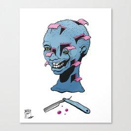 Bad Barber  Canvas Print