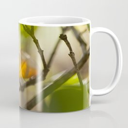 Winter leaf in the wind Coffee Mug