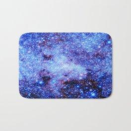 GAlaxy Periwinkle Stars Bath Mat