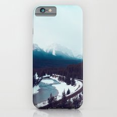 Canadian Rocky Mountains, Banff, Lake Louise, Winter Landscape iPhone 6s Slim Case