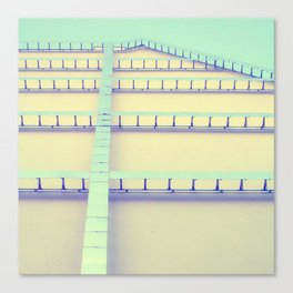Sky Roof Canvas Print