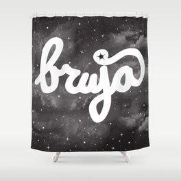 La Bruja Vibes Shower Curtain