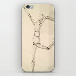 Death by Flamboyance iPhone Skin