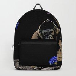 Moon Gorilla  Backpack