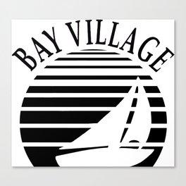 Bay Boat Lines Canvas Print