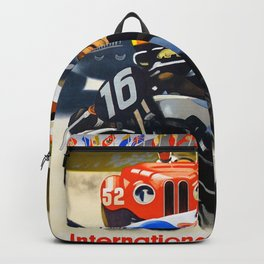 Vintage Nurburgring Poster Backpack