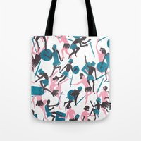 war Tote Bags featuring War by James White