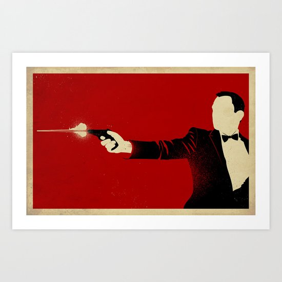 The Double Agent Art Print