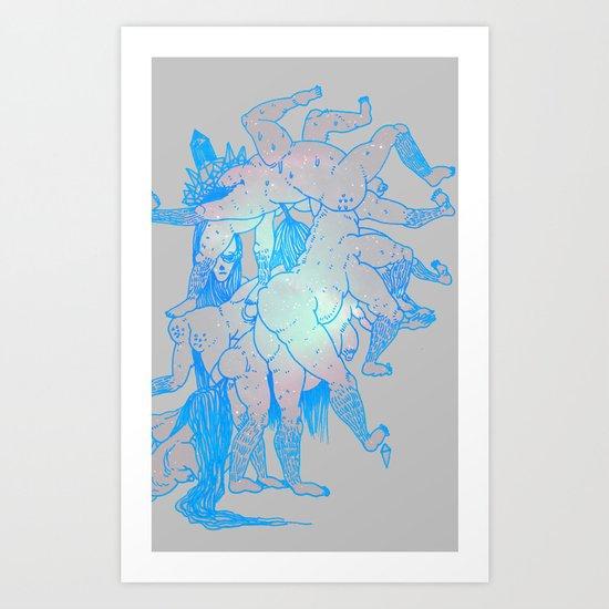 upscale Art Print