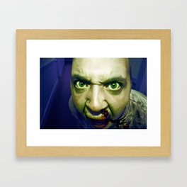 attack of the zombies Framed Art Print