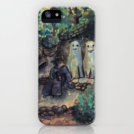 mage and ghosts iPhone Case