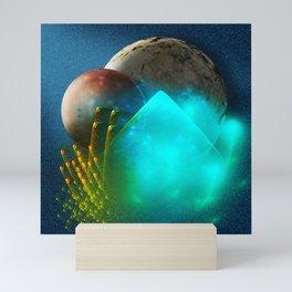 New worlds ripe for exploring Mini Art Print