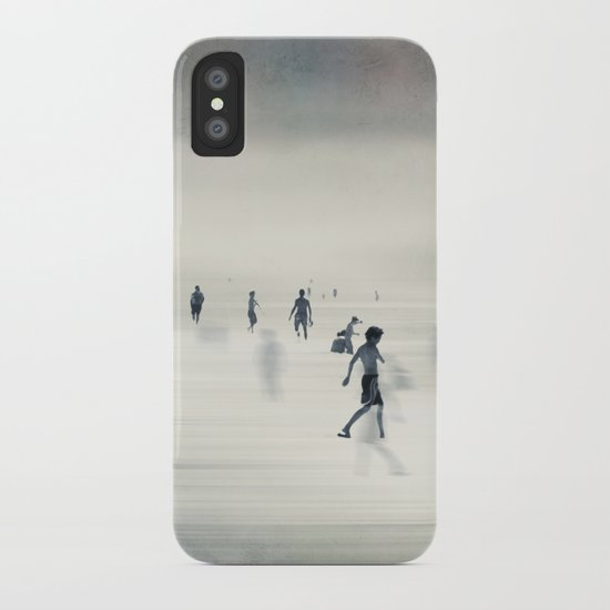 floating on light iPhone Case