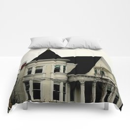 Ghostly Gothic Comforters