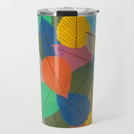 Leaves, Leaves, Leaves - Autumn is Coming - 57 Montgomery Ave Travel Mug