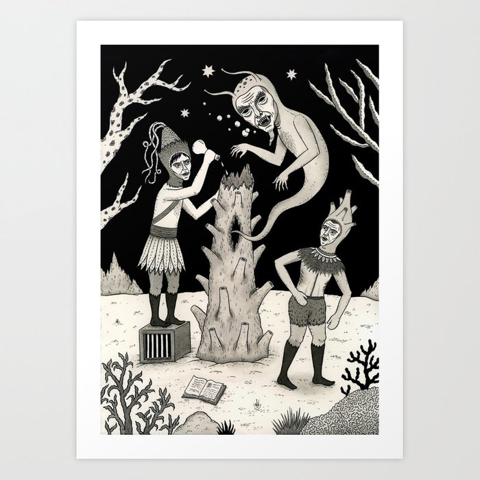 Evicted Art Print