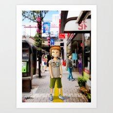 Mitaka Art Print