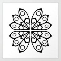Pattern 4 Art Print