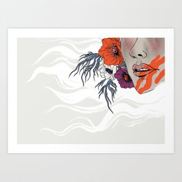 White as Milk, Red as Blood: Sister Art Print