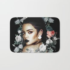 Floral Rihanna Bath Mat