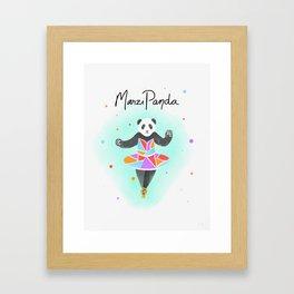 MarziPanda Framed Art Print
