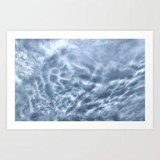 Mammatus Cloud Panorama Art Print