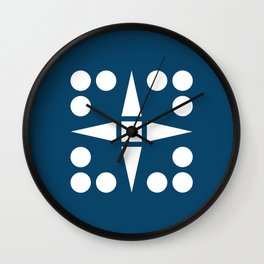 Geometric Calendar (December) Wall Clock