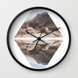 Wanderer Print 3 Wall Clock
